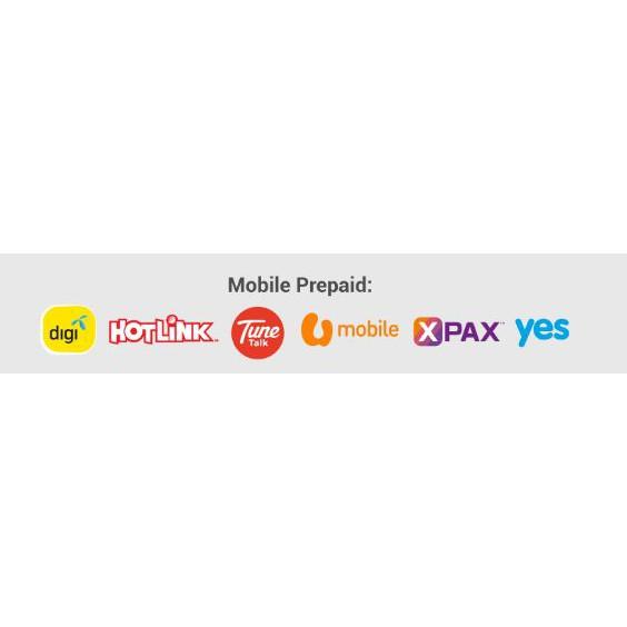 Hotlink Digi U Mobile Umobile Touch N Go Boost Top Up Voucher Shopee Indonesia