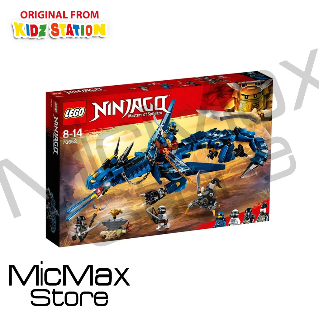 lego ninjago 70652 masters of spinjitzu stormbringer