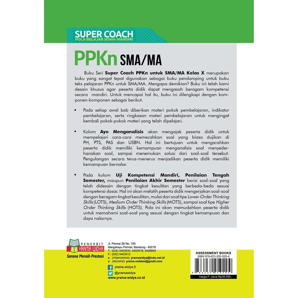 Buku Ringkasan Materi Dan Latihan Super Coach Ppkn Sma Kelas Xi K 13 Revisi Shopee Indonesia