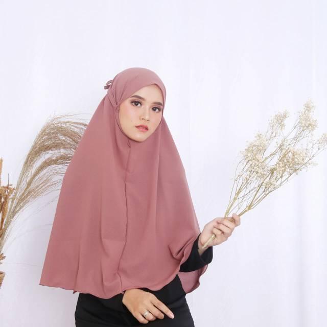 Khimar Bergo Maryam Diamont Jumbo Shopee Indonesia