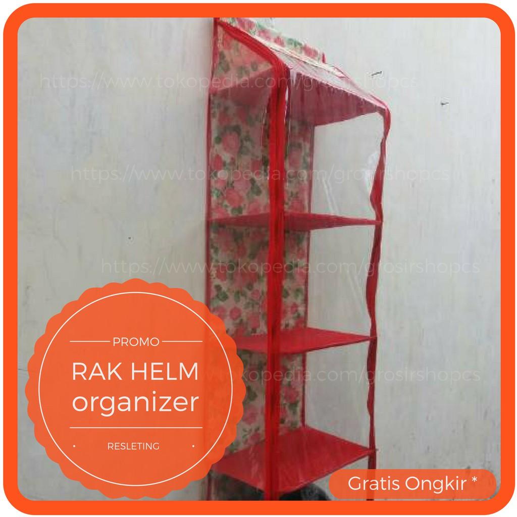 Rak Tas Gantung Dengan Resleting Motif Lv Coklat Hbo Zipper Hboz Frozen Biru Hanging Bag Organizer Retsleting Shopee Indonesia