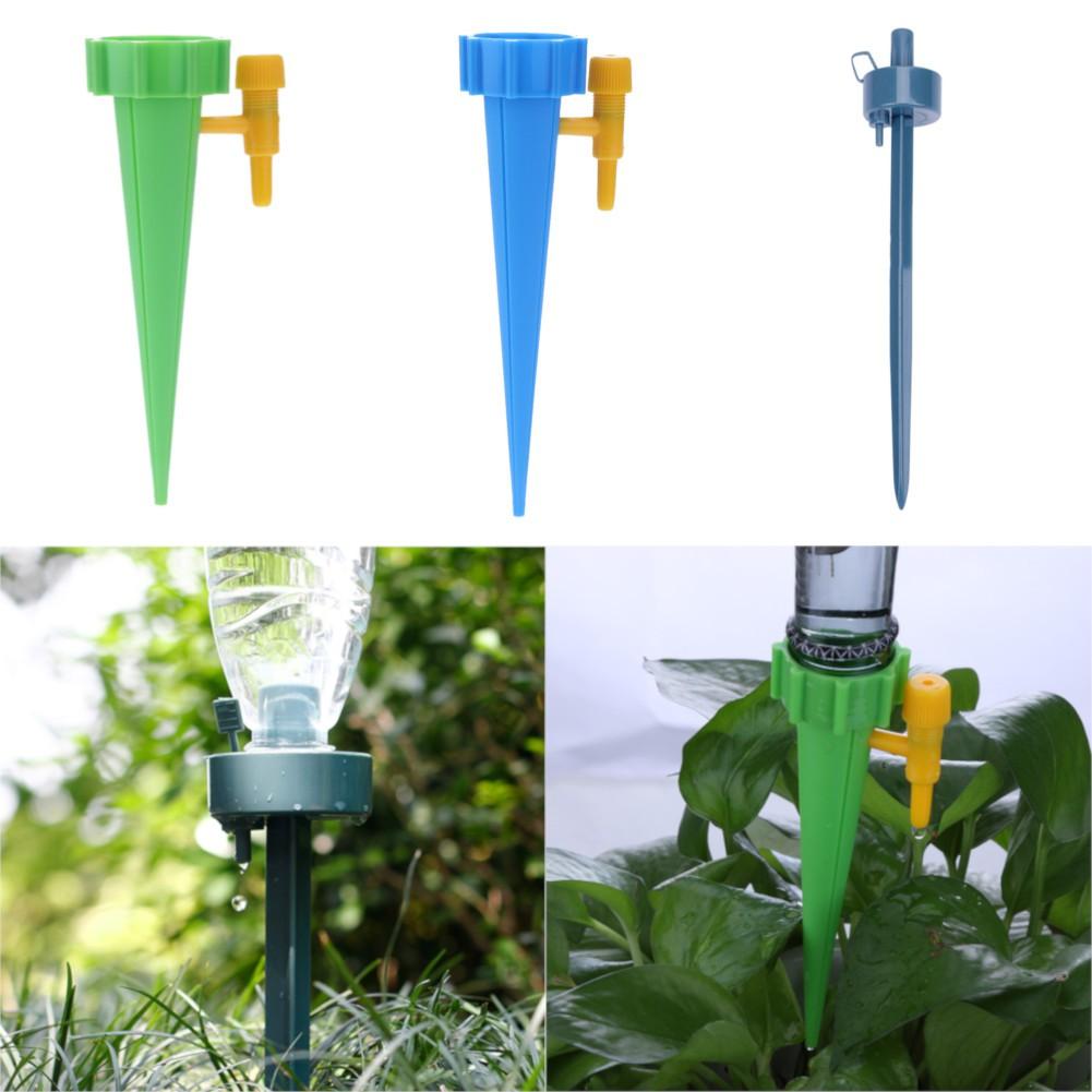 12x //4pcs Automatic Watering Irrigation Spike Garden Plant Flower Drip Sprinkler