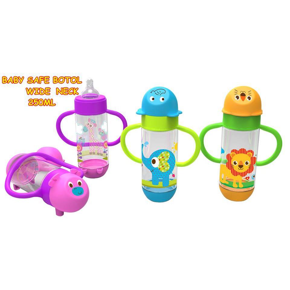 BOTOL MINUM BABY SAFE AP007 / Gelas minum baby / BOTOL BAYI BABY SAFE AP007 / BABY SAGE AP007   Shopee Indonesia