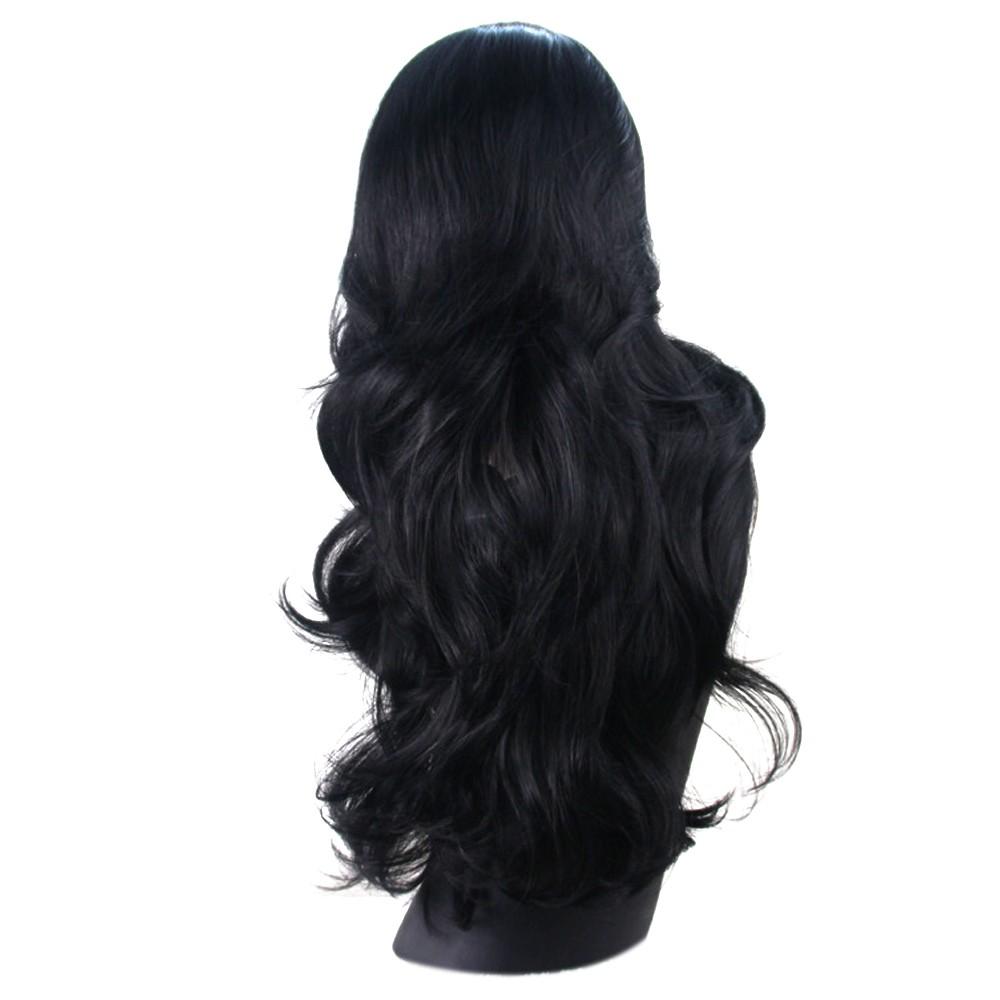 80 cm perempuan gelombang panjang keriting rambut ekstensi Wig Cosplay Wig  Merah anggur  0f4a8b59dd