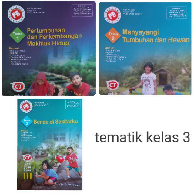 Buku Pr Lks Tematik Sd Tema 1 9 Kelas 1 Sampai 6 K13 Revisi 2018 Harga Satuan Shopee Indonesia
