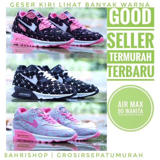 7924ae07f9 Sepatu Wanita Nike Airmax T90 Running Wanita - Ready Stock Siap Kirim! |  Shopee Indonesia