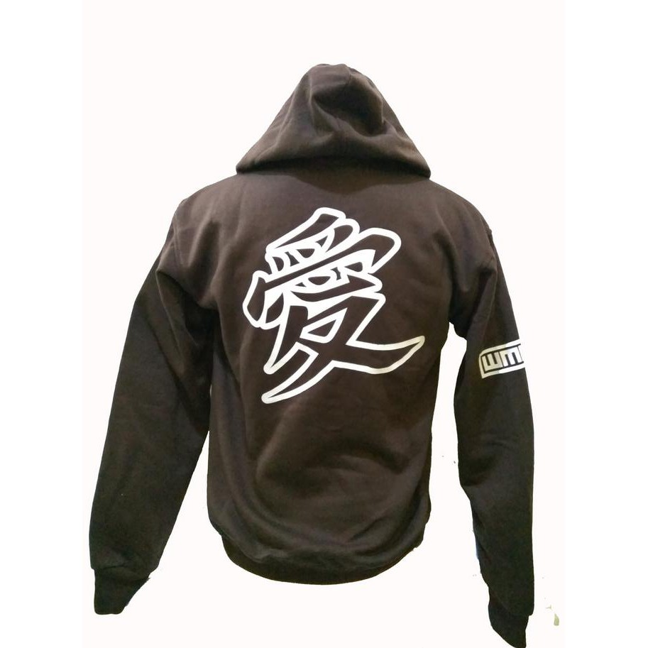 ... Jaket Sweater Hoodie Zipper Anime Naruto Gaara Of The