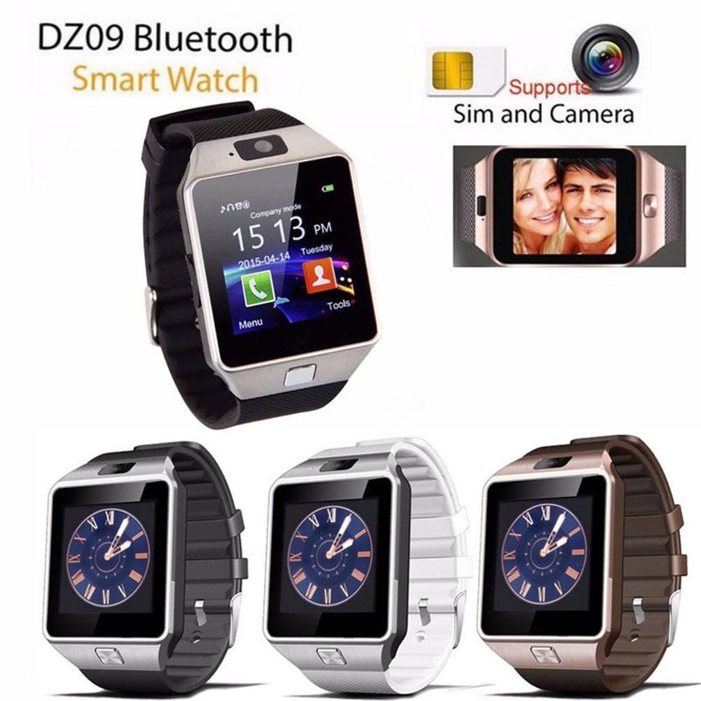 💥MURAH JAM DZ09 Bluetooth Intelligent Wristwatch Phone Camera SIM TF GSM Multi Language | Shopee Indonesia