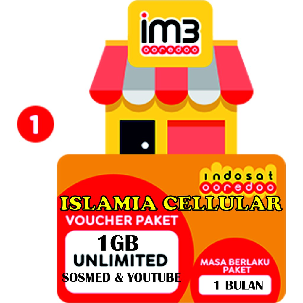 Voucher Isi Ulang Paket Mobo Indosat Yellow 1gb Unlimited Aplikasi Special Vocher 100rb Shopee Indonesia