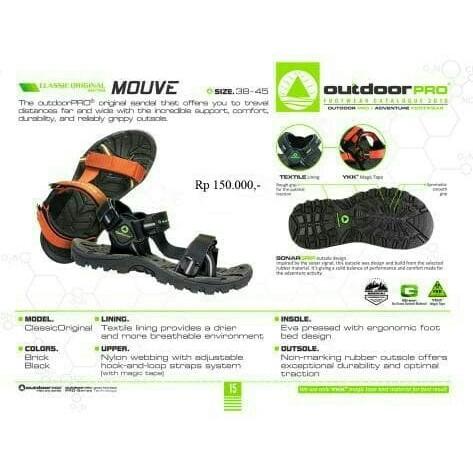Sandal gunung outdoor pro seri mouve not eiger consina rei boogie ... 875da7f5d9