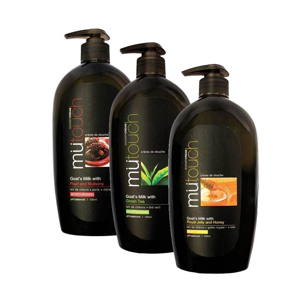Velvy Goats Milk Shower Cream Extra Moist Green Tea Pump 1000m And Aloe Vera 250ml Shopee Indonesia