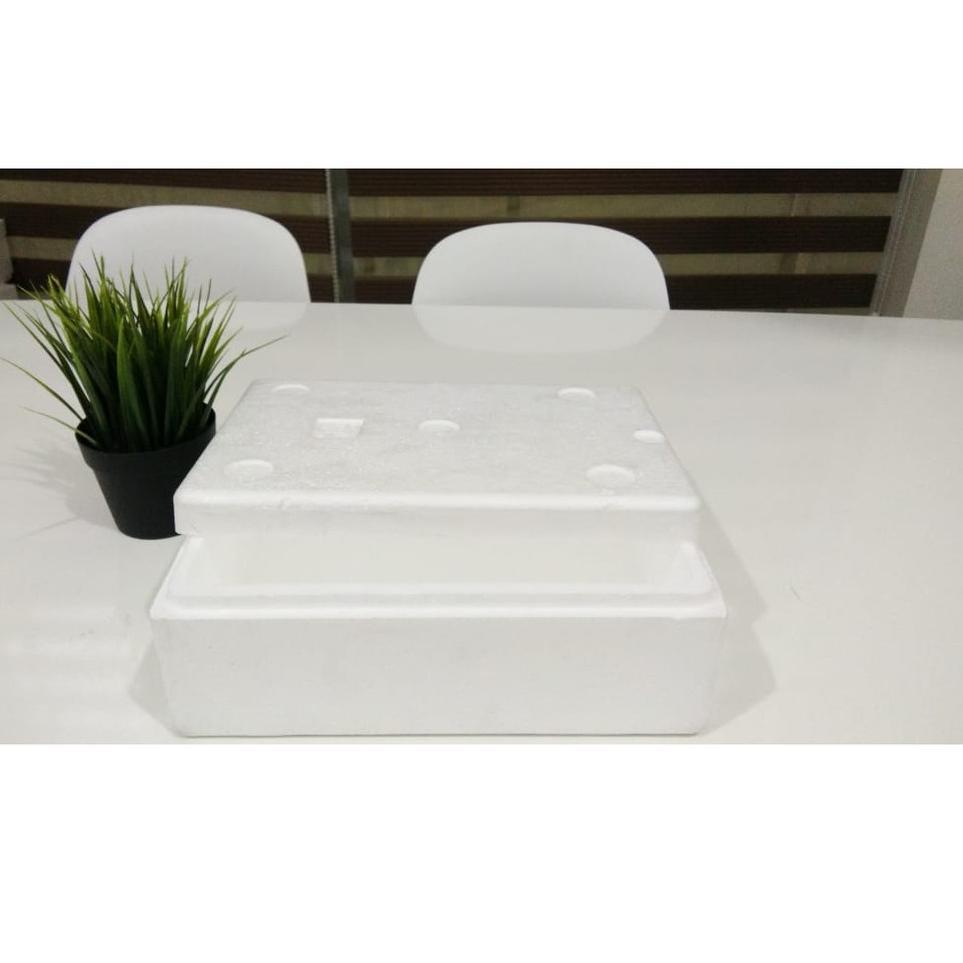 Ready ➠ Styrofoam 1kg - Styrofoam Ikan - Styrofoam Frozen Food - Styrofoam Sayur - Styrofoam Serbagu