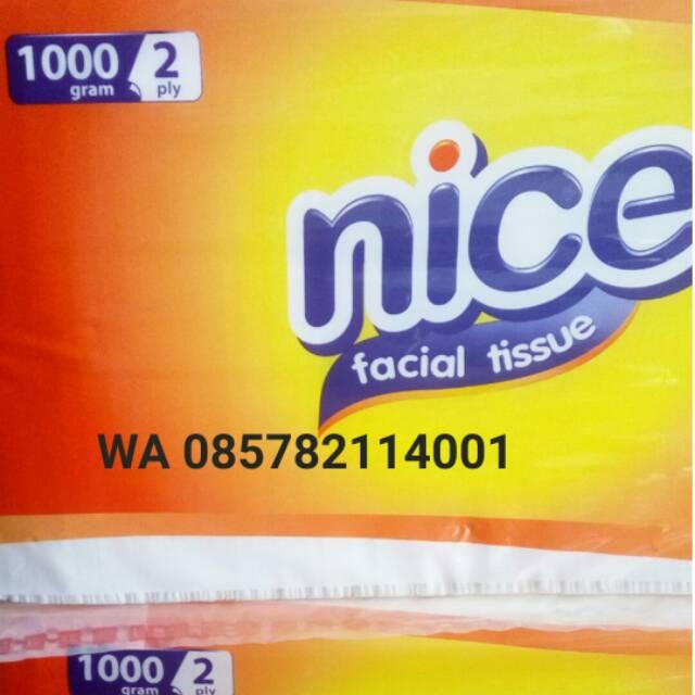 Facial Tissue NICE 1000 Gram Wajah 1000gram