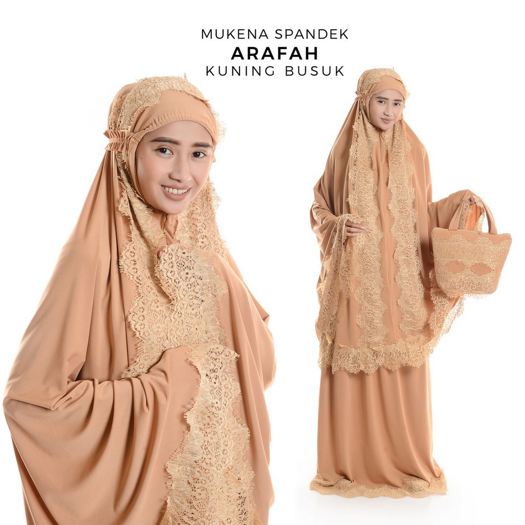 GROSIR MUKENA MANIS @ MUKENA SPANDEK BRUKAT / BROKAT ARAFAH TOSKA   Shopee Indonesia