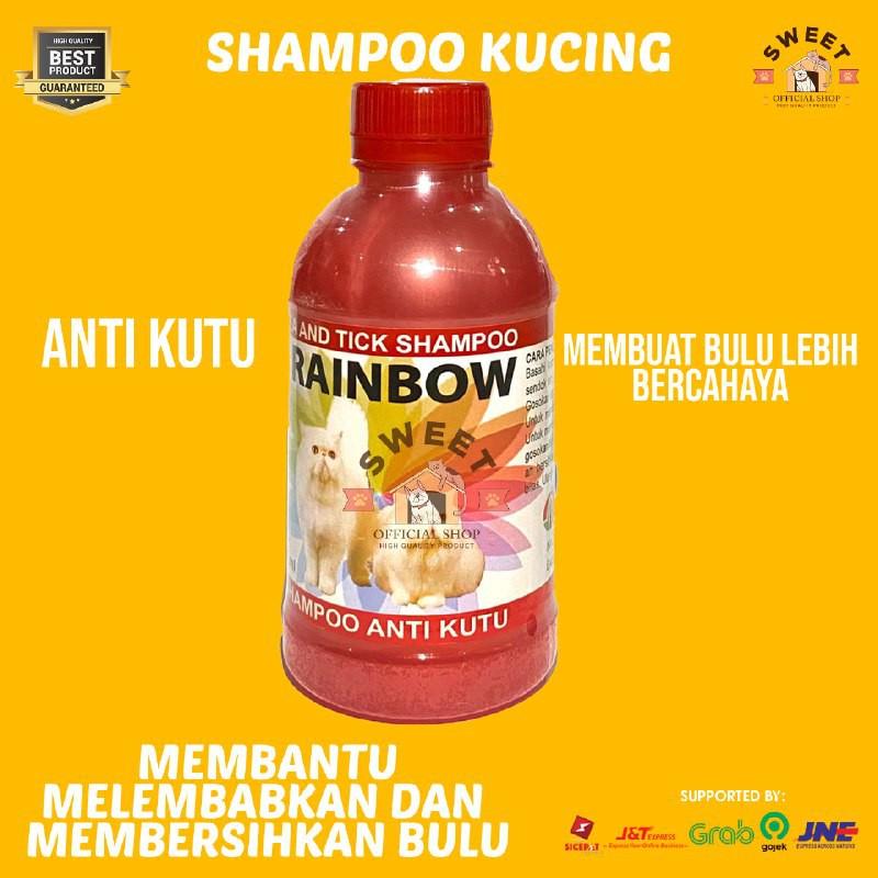 Rainbow - Shampo Anti Kutu Kucing Original 250 ml-2