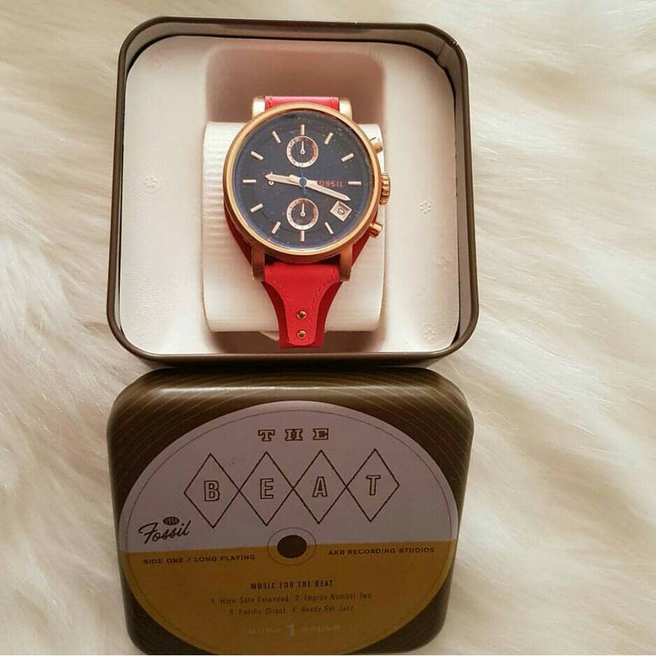 Fossil Me3100 Jam Tangan Original Pria Am4628 Asli Authentic Murah Shopee Indonesia