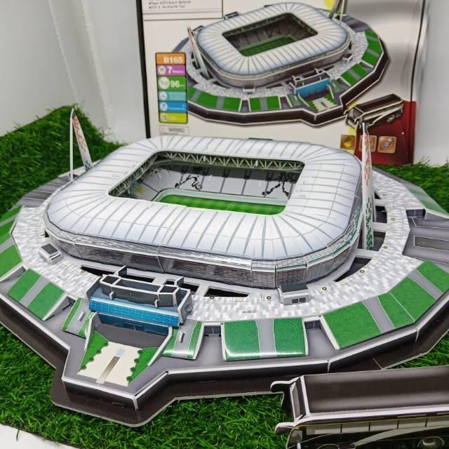 Juventus 3d Puzzle Juventus Stadium Stadion Juventus Shopee Indonesia