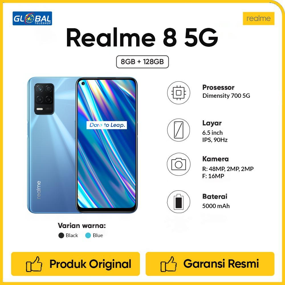 Realme 8 5G Smartphone [8/128GB] | Shopee Indonesia