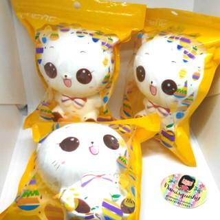 Mainan anak murah aman safety lucu gemes / Squishy Jumbo Squishy Lucu Kucing Putih Cat Sof Slow | Shopee Indonesia