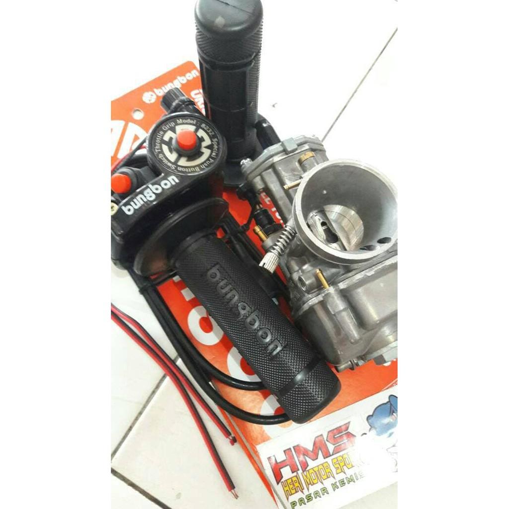 Paket Murah Karburator Nsr Keihin Pe 24 Gas Spontan Bungbon Tombol Polos Thailand Shopee Indonesia