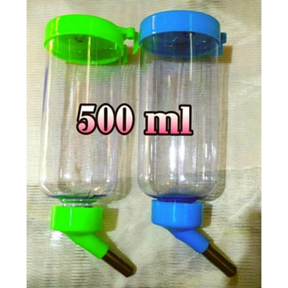 Botol Minum Hewan Anjing Kucing Kelinci Marmut Guinea Pig 300ml Tempat Makan Hamster 500ml Shopee Indonesia