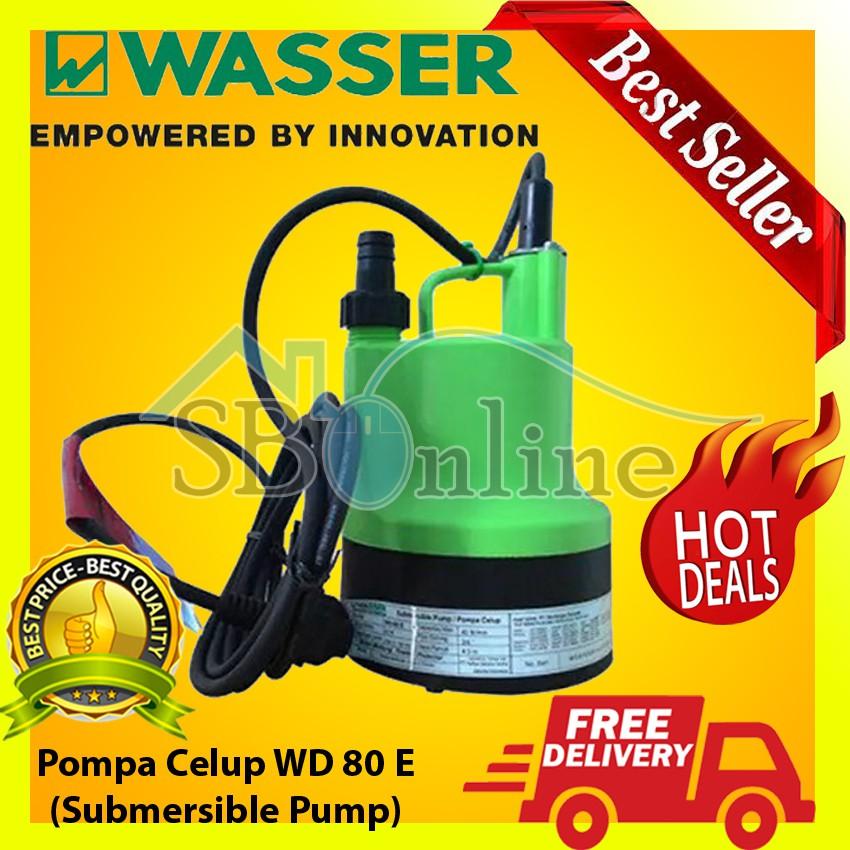 Pompa Celup 80 Watt WD-80 E Submersible Pumps Harga Pabrik | Shopee Indonesia