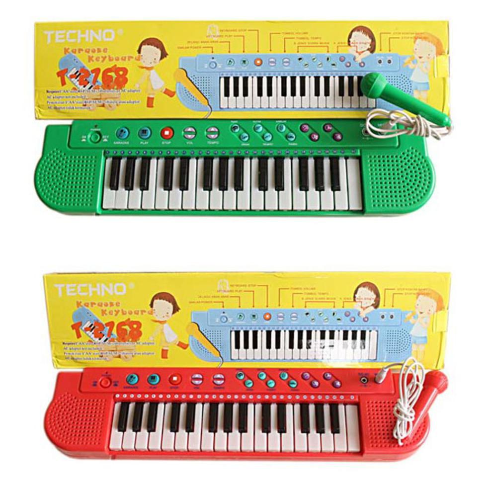 Piano Karaoke Anak Plus Mic Shopee Indonesia