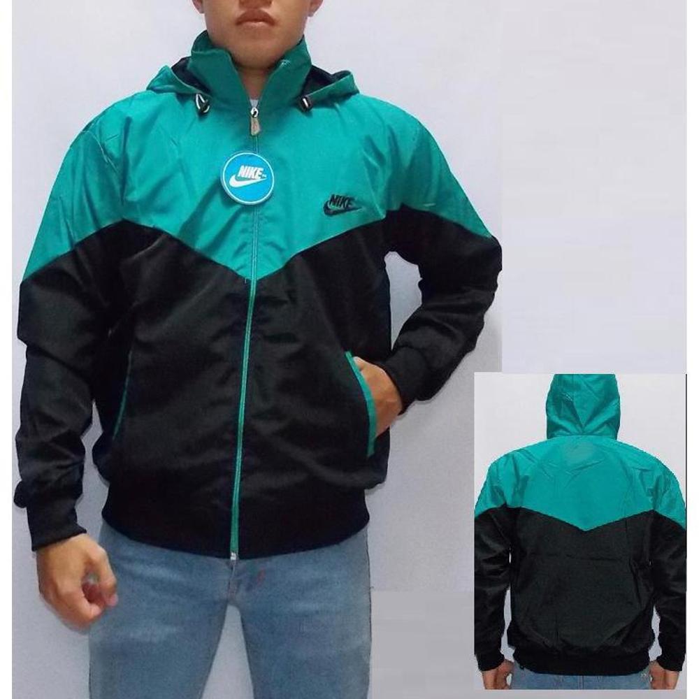 Jaket Parasut Nike Biru Hitam Shopee Indonesia Hijau Tosca