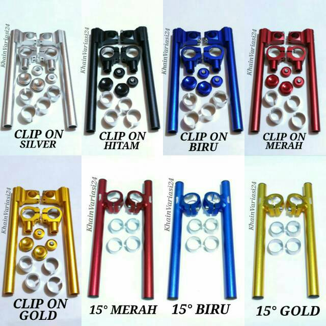 Stang jepit clip on sonic 150 R new sonic 150r new sonic 150 r   Shopee Indonesia
