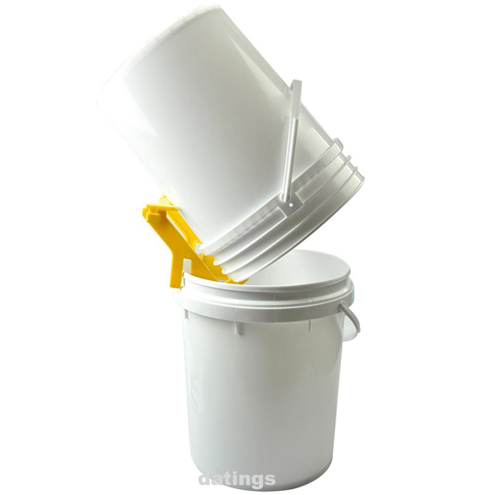 Grip Holder Bee Holder Rack  Removing Heavy Buckets Easily Honey Bucket Rack
