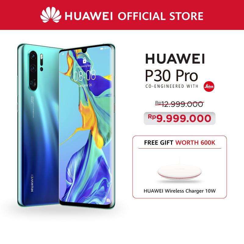Huawei P30 Pro (8/256GB) Free (Huawei Wireless Charger) | Shopee ...