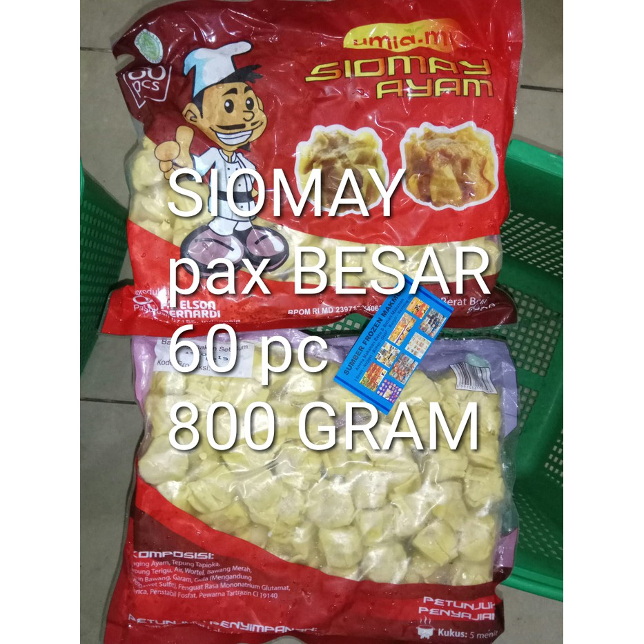 Siomay Ayam 800gr Umami Sumber Frozen Makmur Shopee Indonesia Ekado Super Pondok Cabe