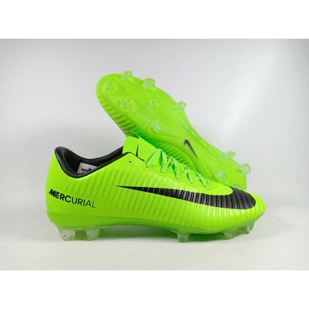 8b8b42891 Sepatu Bola Nike Mercurial Superfly V Electric Green FG Replika Impor
