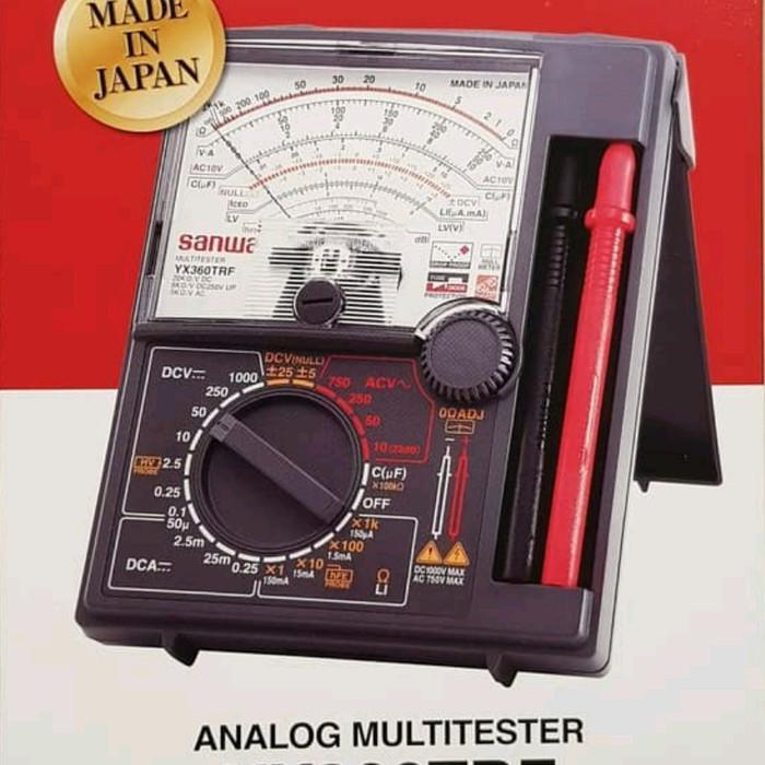 riqyzap00107- Multitester Analog SANWA, Made in Japan Limited