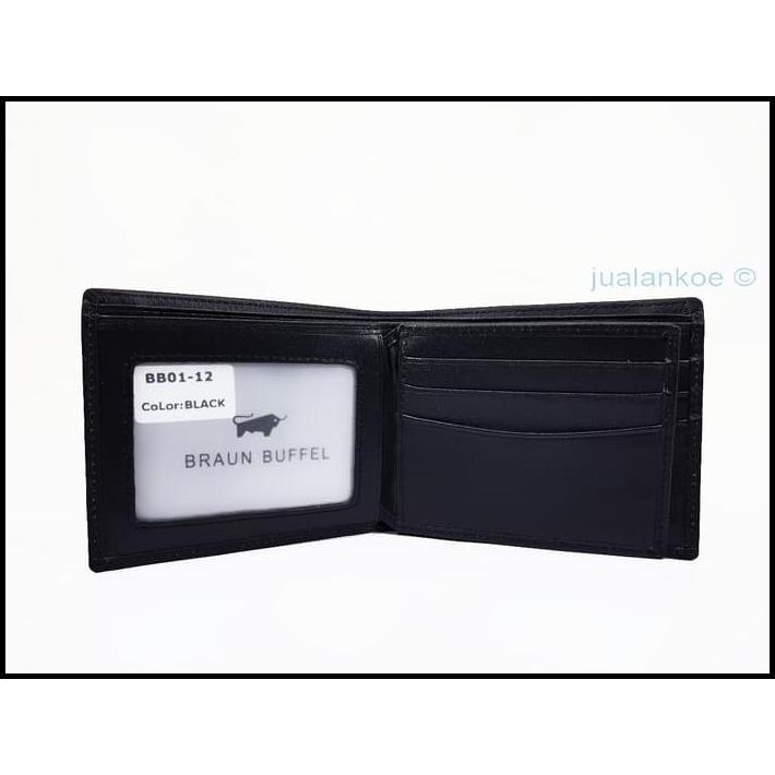 Genuine Leather Black Braun Buffel Big Wallet