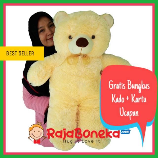 NEW BONEKA TEDDY BEAR BERUANG JUMBO BESAR BONEKA MURAH  e364ba7737