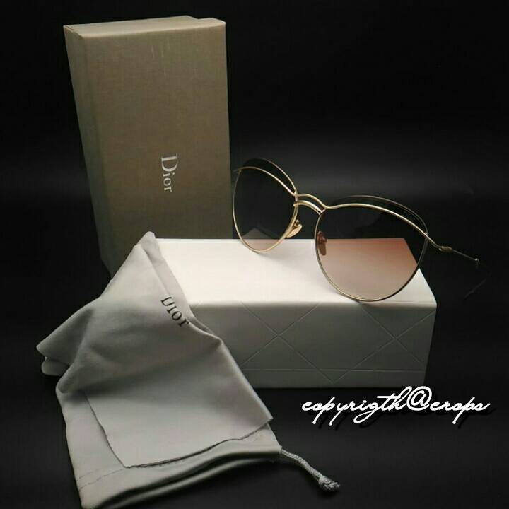 GRN13886 Kacamata Wanita Dior 8389 ( Coklat )  8e5d4113b5