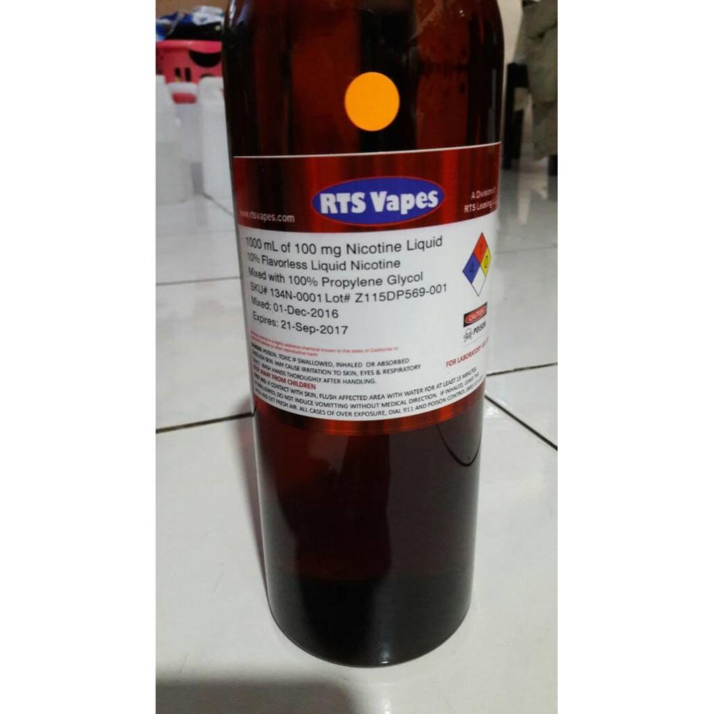 Liquid Nicotine / Nikotin Cair 100Mg/Ml Rts Vapes (Usa) 30Ml | Shopee Indonesia