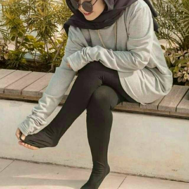 Legging Softrayon Full Kaki Injak Tumit Legging Panjang Wanita Celana Legging Injak Murah Shopee Indonesia