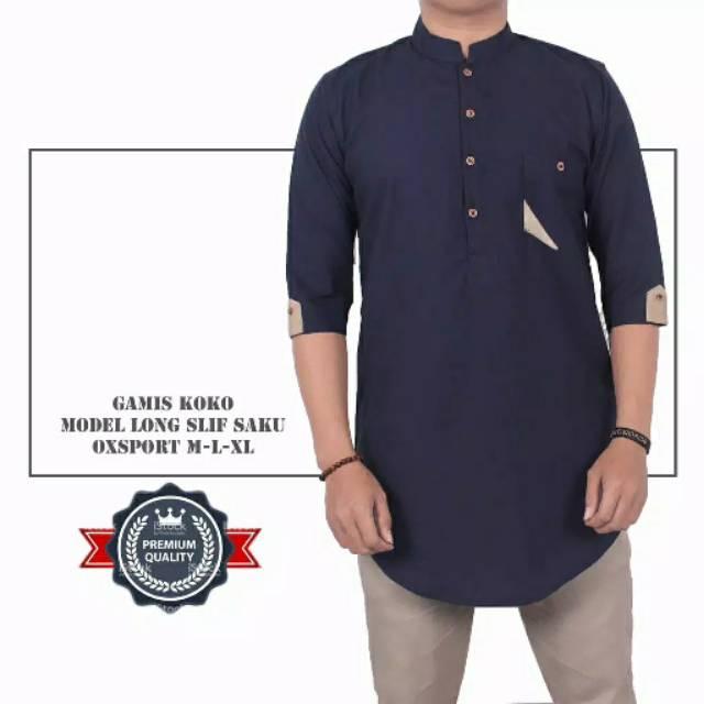 Jual Beli Produk Baju Koko - Atasan Muslim Pria  c7d88e4f30
