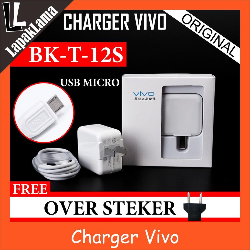 Charger Hp Xiaomi 2a Micro Usb Chargeran Kabel Data Viivo Y55s Garansi Resmi Vivo Shopee Indonesia
