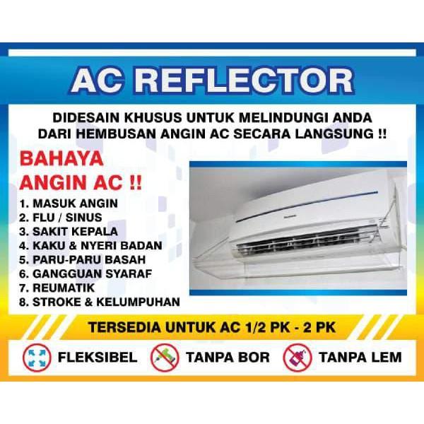 PENAHAN HEMBUSAN AC/TALANG AC MATERIAL ACRYLIC UNTUK AC 2PK - 2 1/2 PK | Shopee Indonesia