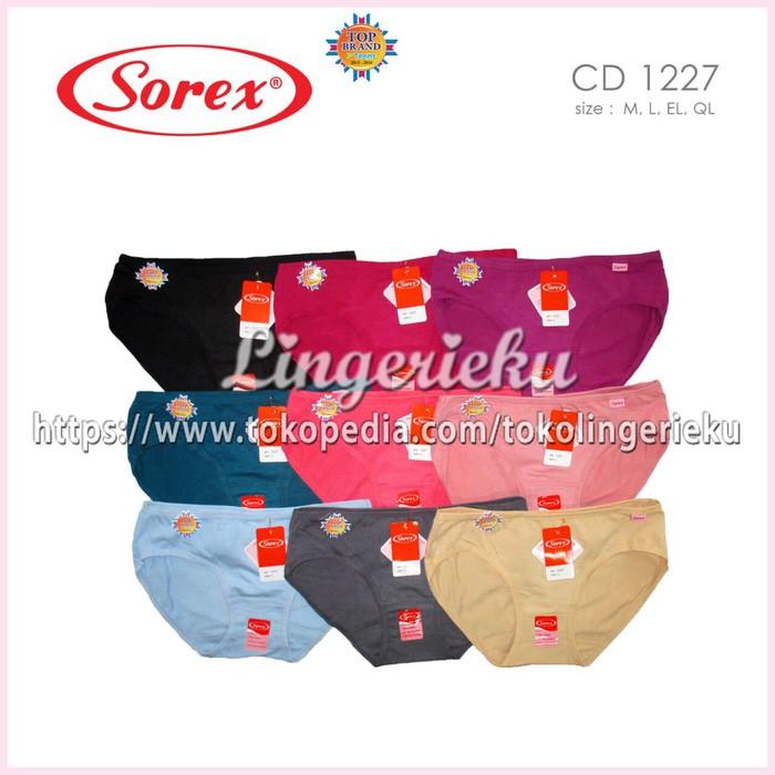 Celana Dalam Wanita Sorex 1178 Ukuran EL atau XL  79521e507a