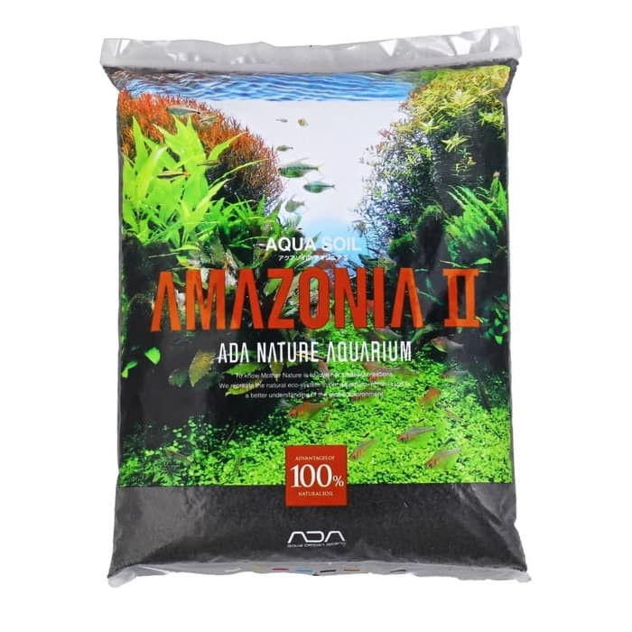 Ada Aqua Soil Amazonia Normal Isi 9l 9 Liter Aquascape Nature Aquarium Shopee Indonesia