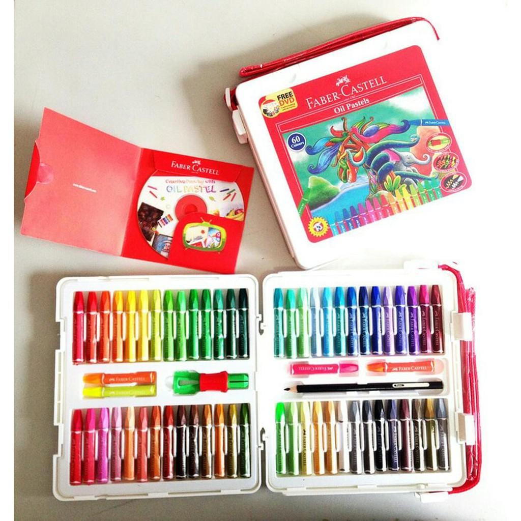 Crayon Oil Pastels 72 Warna Greebel Artist Shopee Indonesia