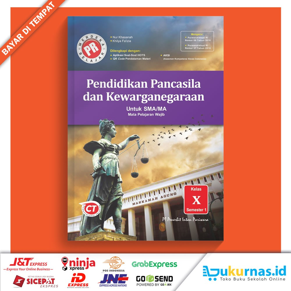 Buku Pr Ppkn Sma Ma Kelas 10 Semester 1 Lks Intan Pariwara 2020 2021 Shopee Indonesia