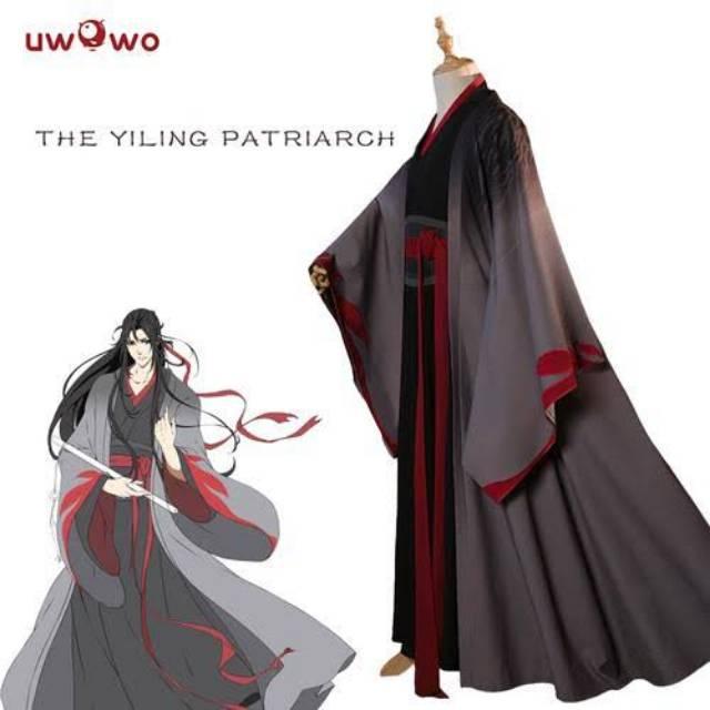 New Mo Dao Zu Shi Juvenile Wei Wuxian Cosplay Costume Full Set Clothes Halloween