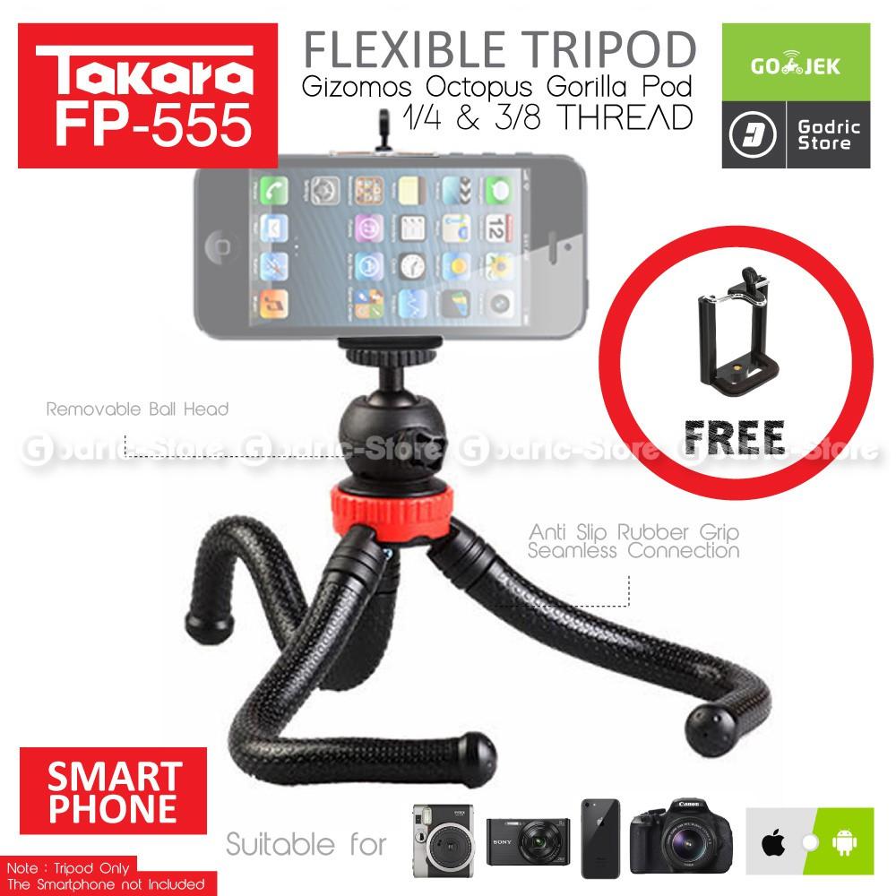 ULANZI Mini Tripod Stabilizer for DJI OSMO Mobile GoPro Smartphone Camera Monopod Tongsis Vlogging | Shopee Indonesia