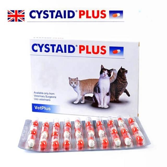 Cystaid Plus Obat Fus Pipis Kencing Mampet Tersumbat Urinary Pada Kucing Harga Satuan Shopee Indonesia