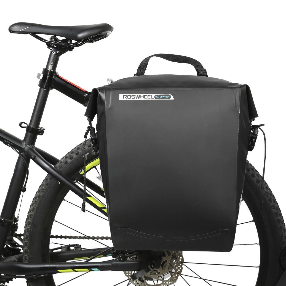 25l Tas Backpack Tahan Air Breathable Untuk Bersepeda Hiking Roswheel Sepeda Bike Waterproof Bag With Smartphone Shopee Indonesia